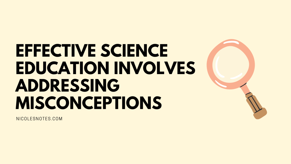 Effective Science Education involves AddressingMisconceptions