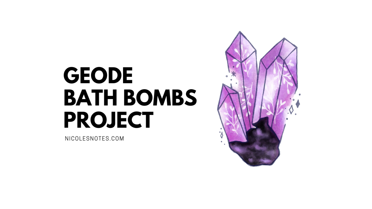 Service Learning: Geode BathBombs