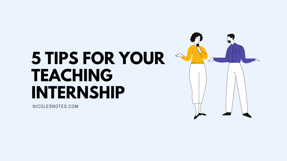 5 tips for your teaching internship