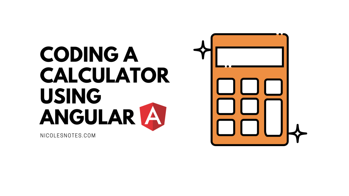 coding a calculator using AngulaR